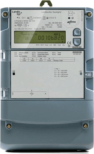 landis gyr e650 installation manual